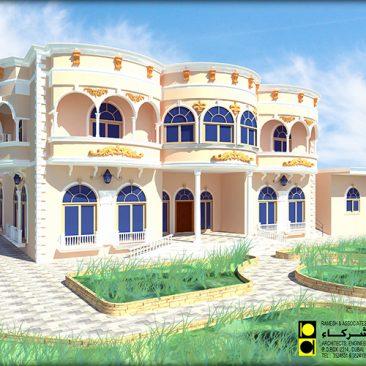 Ground + 1 Floor Villa