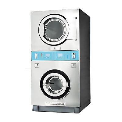 stacked washer dryer 15 KG